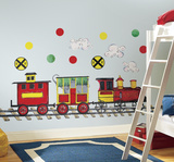 All Aboard Peel & Stick Wall Decal MegaPack Wall Decal