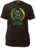 Dr. Doom - Circle Portrait (Slim Fit) T-Shirt