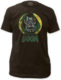 Dr. Doom - Circle Portrait (Slim Fit) Shirts
