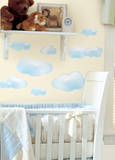 Clouds Peel & Stick Wall Decals Autocollant mural