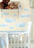 Clouds Peel & Stick Wall Decals - Duvar Çıkartması