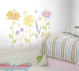 Fairy Garden Peel & Stick Wall Decal MegaPack Wall Decal