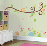 Happi Scroll Branch Peel & Stick Wall Decals Decalques de parede