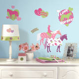 Horse Crazy Peel & Stick Wall Decals Wall Decal