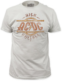 AC/DC - High Voltage (Slim Fit) Remera