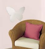 Butterfly Peel & Stick Mirror (Large) Kalkomania ścienna