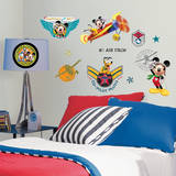 Mickey & Friends - Clubhouse Pilot Peel & Stick Wall Decals Vinilo decorativo