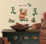 Santa Peel & Stick Wall Decals Wall Decal