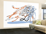 Genesis Worm Wall Mural – Large by  HR-FM