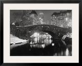 Lago em Nova York no Inverno Impressão fotográfica emoldurada por  Bettmann