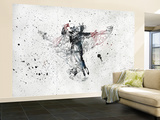 Heaven beside you Wall Mural – Large by Alex Cherry