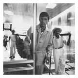 GQ - June 1967 Regular Photographic Print by Leonard Nones