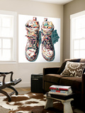 Sneaker Wall Mural by HR-FM