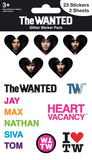 The Wanted Glitter Stickers Klistermærker