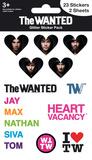 The Wanted Glitter Stickers Klistremerker