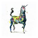 Lora Zombie - Unicorn Plakát