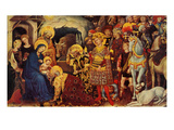 """Adoration of the Magi"", December 26, 1959 Giclée-Druck von Gentile DaFabriano"