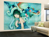 Loveless Bird Wall Mural – Large by Camilla D'Errico