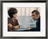 Jean Yanne and Sheila: Bang Bang, 1967 Framed Photographic Print by Marcel Dole