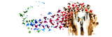 Birds Birds Birds Posters af Lora Zombie