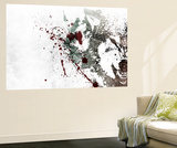 Bare my teeth Wall Mural by Alex Cherry