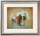 Vintage Tulips I Print by Cristin Atria