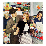 """More Money, Honey"", July 21, 1951 Giclee Print by George Hughes"