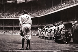 Babe Ruth Retirement - New York Yankees Print