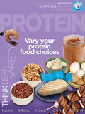 Protein MyPlate Food Group Poster Affiches