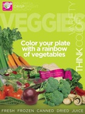 Veggies MyPlate Food Group Poster Print