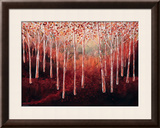 Magical Woodlands Framed Giclee Print by Serena Sussex