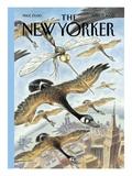 The New Yorker Cover - April 17, 2000 Premium Giclee Print by Peter de Sève
