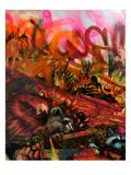 We Are Hawks Bears Deer and Raccoons Kunstdrucke von Shark Toof