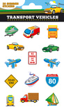 Transport Shimmer Stickers Stickers