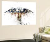 Eagles Become Wandgemälde von Alex Cherry