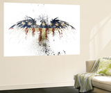 Eagles Become Wall Mural by Alex Cherry