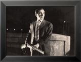 Charles Aznavour: Horace 62, 1962 Gerahmter Fotografie-Druck von Marcel Dole