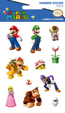 Nintendo Character Shimmer Stickers Stickers