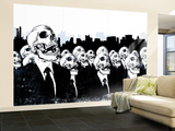 We Live no more Wall Mural – Large by Alex Cherry