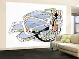 Eyewear Wall Mural – Large by  HR-FM