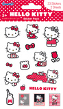 Hello Kitty Glitter Stickers Stickers