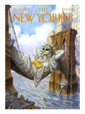 The New Yorker Cover - May 25, 1998 Premium Giclee Print by Peter de Sève