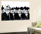 We Live no more reproduction murale géante par Alex Cherry