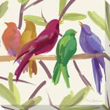 Flock Together Reproduction transférée sur toile