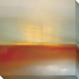 Orange Horizon Impressão em tela esticada