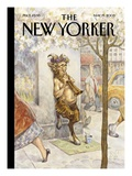 The New Yorker Cover - May 19, 2003 Premium Giclee Print by Peter de Sève