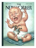 The New Yorker Cover - May 14, 2001 Premium Giclee Print by Anita Kunz
