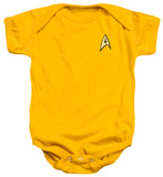 Infant: Star Trek- Command Uniform Infant Onesie