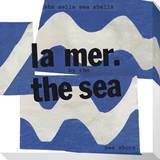 La Mer The Sea Leinwand