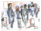 Calendar Call Arte por Mona Shafer Edwards